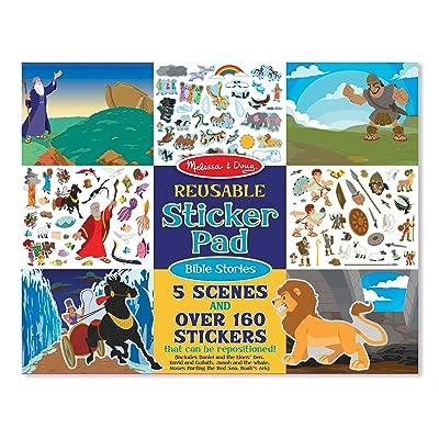 Melissa & Doug 9124 Bible Stories Reusable Sticker Pad: Toys & Games