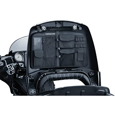 Kuryakyn 5298 Motorcycle Accessory: Trunk Lid Organizer Storage Bag for 2014-19 Indian Motorcycles, Black: Automotive
