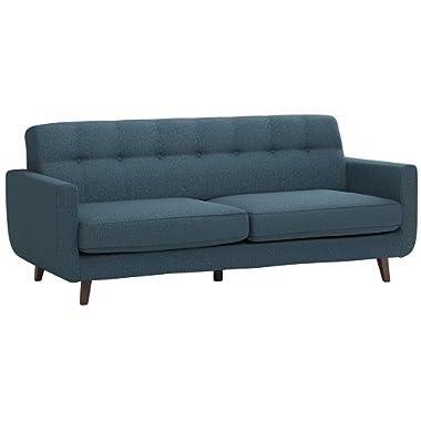 Rivet Tufted Modern Sofa, Shell – Sloane Mid-Century Modern, 79.9  W