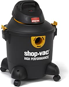Shop-Vac 5987100 8 gallon 3.5 Peak HP High Performance Series Wet Dry Vacuum, Black/Yellow