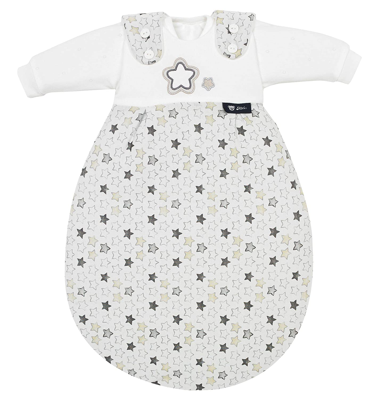 Alvi Baby-Mäxchen 3tlg. Super Soft Stern und Sternchen grau, Größe:50/56 Größe:50/56