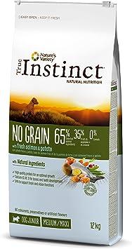 True Instinct No Grain Medium-Maxi Pienso para Perro Junior con ...