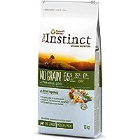 True Instinct No Grain - Nature's Variety - Pienso sin Cereales para Perro Junior Medium-Maxi con Salmón - 12kg