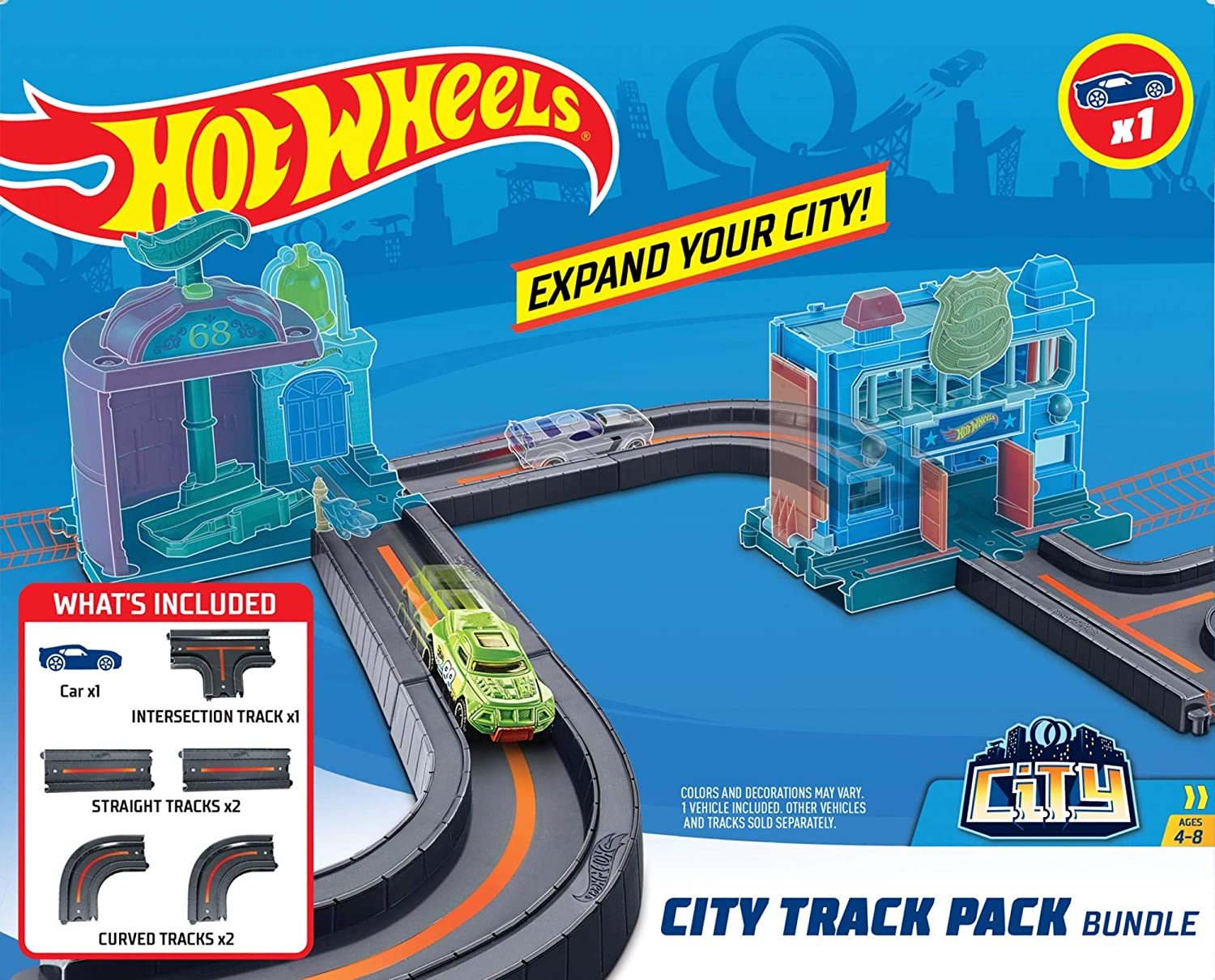 Hot Wheels City Track Pack Bundle