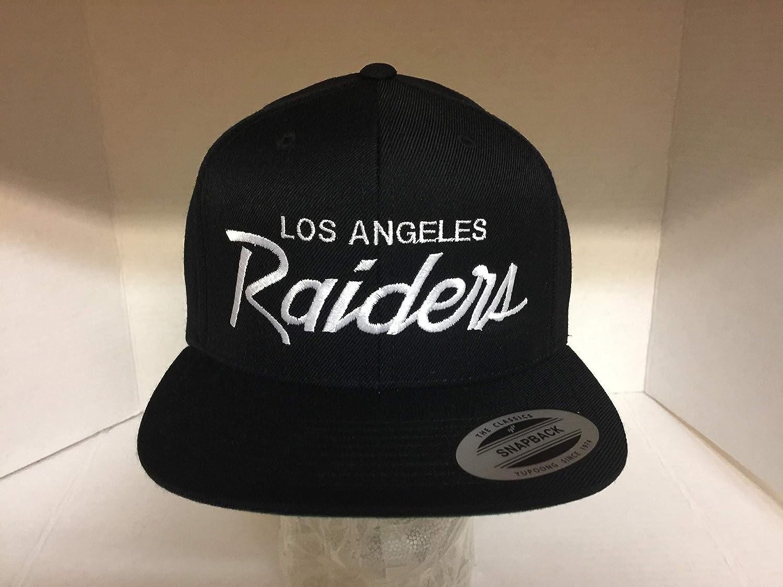 Amazon com : Vintage replica Los Angeles raiders SnapBack