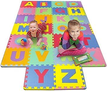 KIDS PLAYMAT ABC 26PCS LARGE TILES EVA PUZZLE FREE DELIVERY