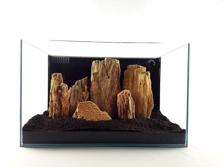 Burma Petrified Stone 25 Gallon Aquarium Rock Kit Lifegard Aquatics