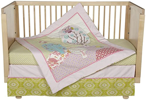 Lolli Living Poppy Seed 4-Piece Crib Set