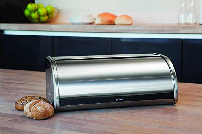 Amazon.com: Brabantia – Panera acero inoxidable mate ...