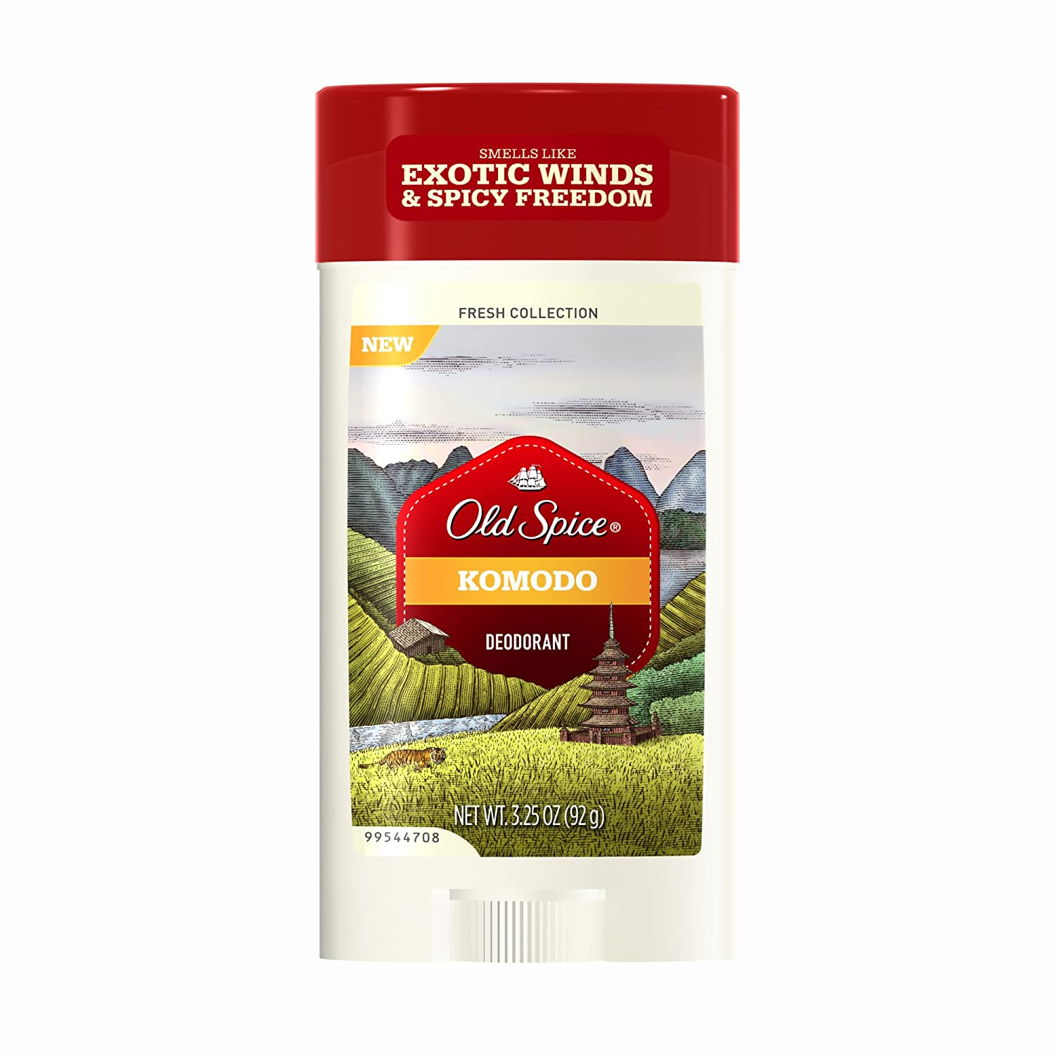 Old Spice Fresh Collection Komodo Deodorant, 3 25-Ounce (Pack of 2)