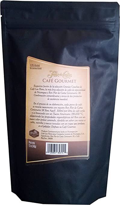 Flor De Caña Gourmet Coffee Flavored With Rum 18Yrs (Ground ...