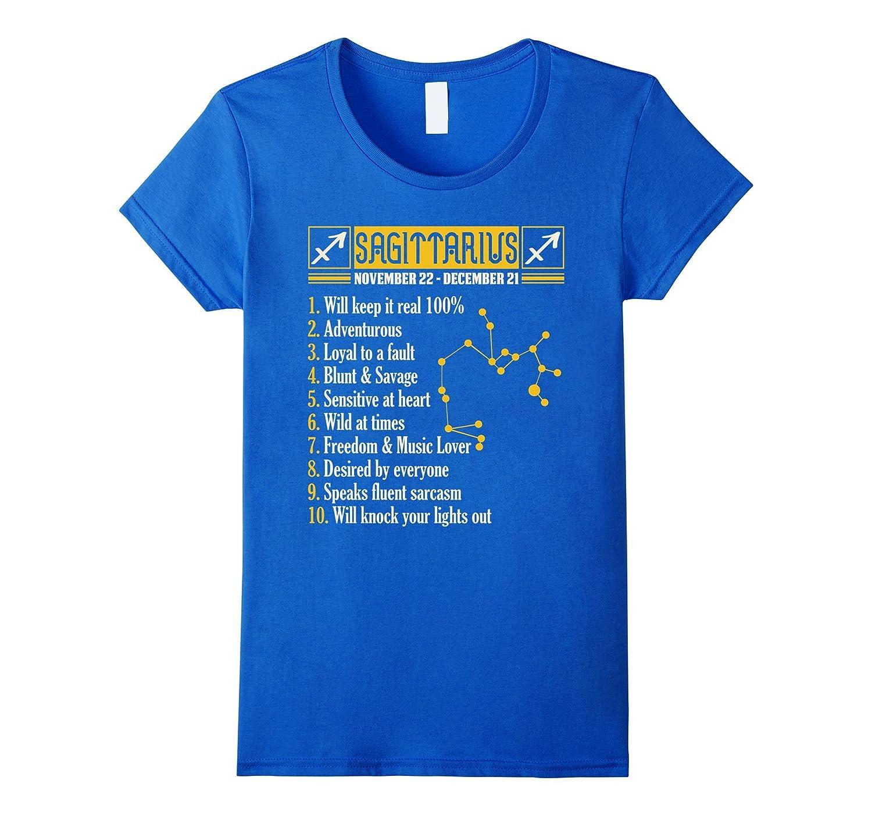 10 Things About Sagittarius T-shirt Sagittarius Facts