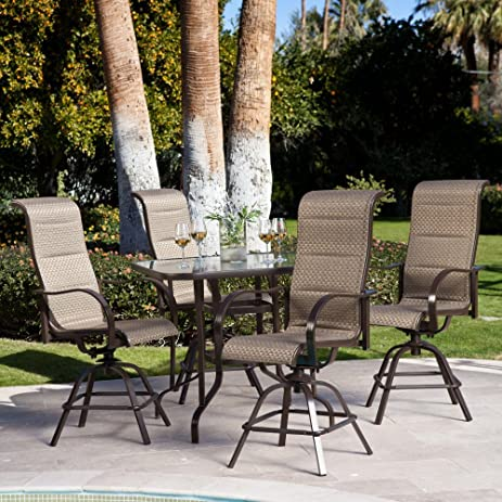 Coral Coast Del Rey Balcony Height Dining Set