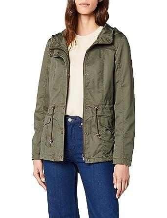 ONLY Women s Onlnew Kate Spring Parka Jacket OTW Noos Coat Black ... 8c62ca8cc9e9