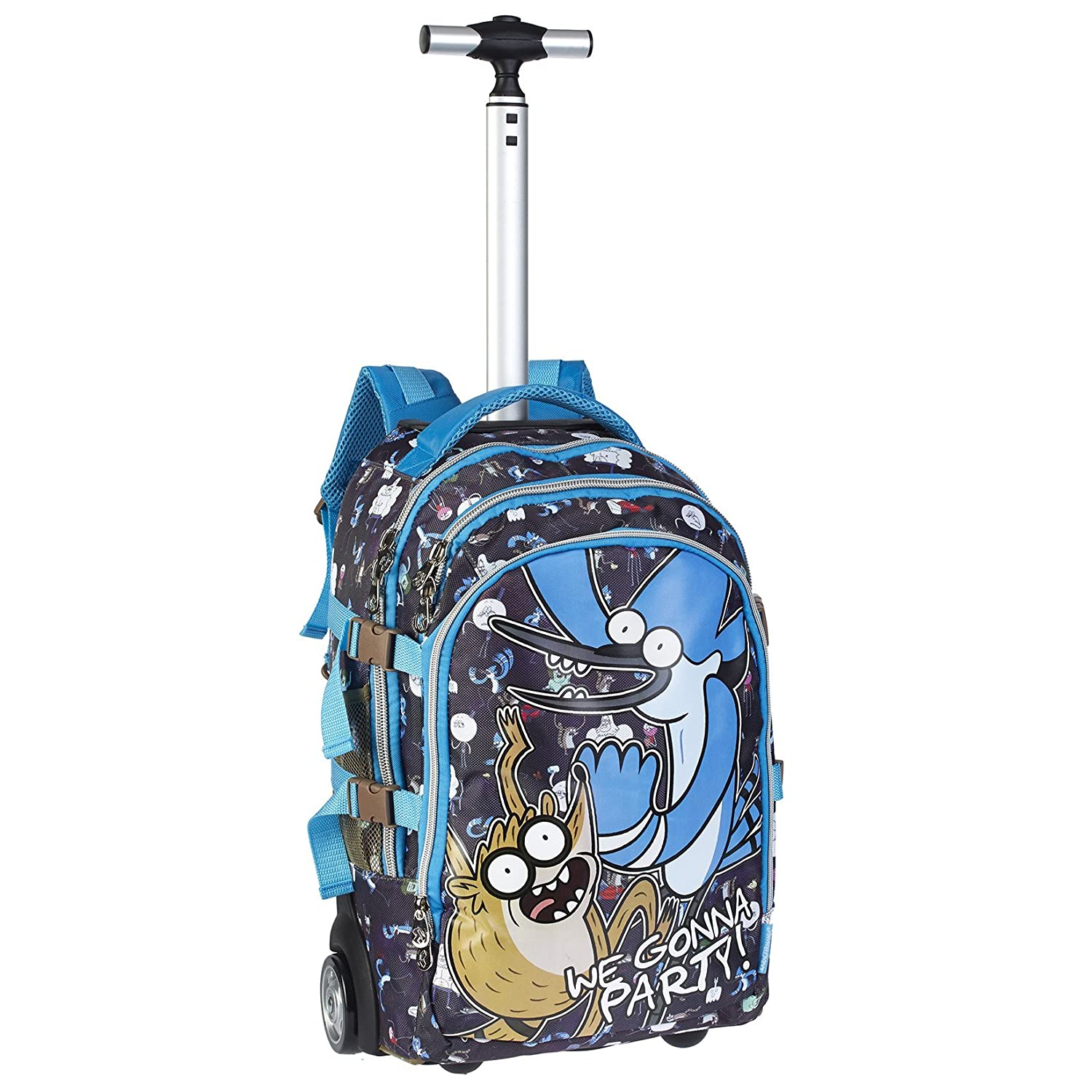Regular Show - Party Travel Trolley-Rucksack (Karactermania)