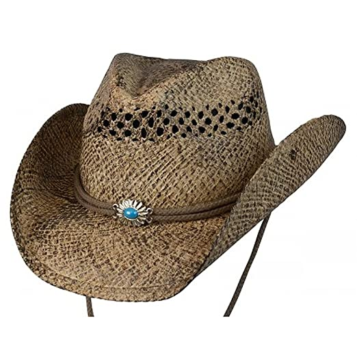 71d63f93be2 Conner Hats Women s Big Sky Western Shapeable Summer Straw Hat ...