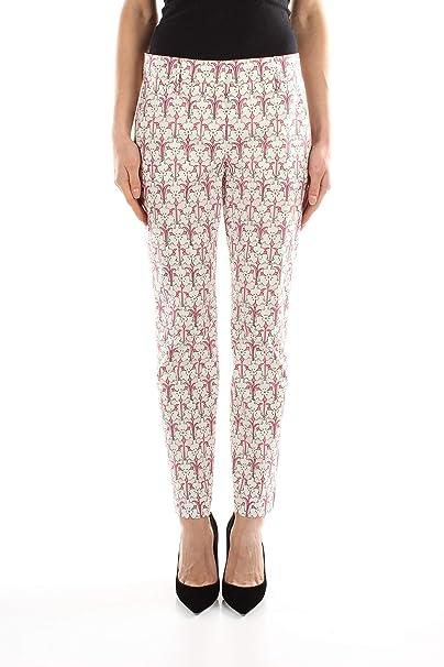 pretty nice 408a1 1ccee Prada Pantaloni Donna - Cotone (P2469POPELINESTRIR): Amazon ...