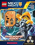 Stone Monsters Attack! (LEGO NEXO KNIGHTS: Activity Book with Minifigure)