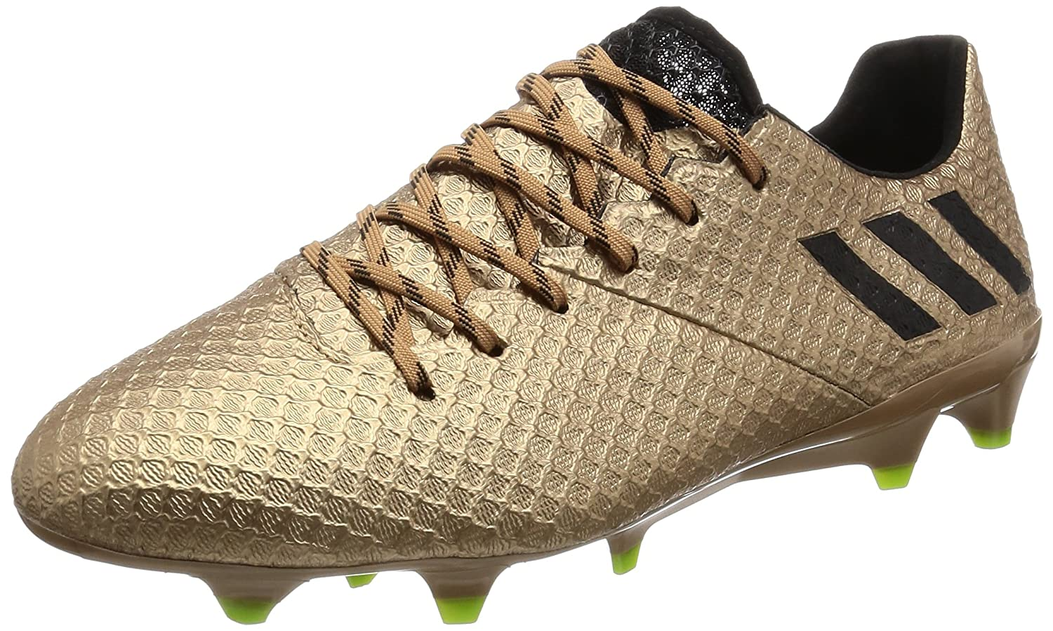 ffcf441b1 Amazon.com | adidas Men Shoes Soccer Football Boots Messi 16.1 Firm Ground  Gold BA9109 New (US 11) | Soccer
