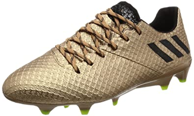 182955d1efa adidas Men Shoes Soccer Football Boots Messi 16.1 Firm Ground Gold BA9109  New (US 11