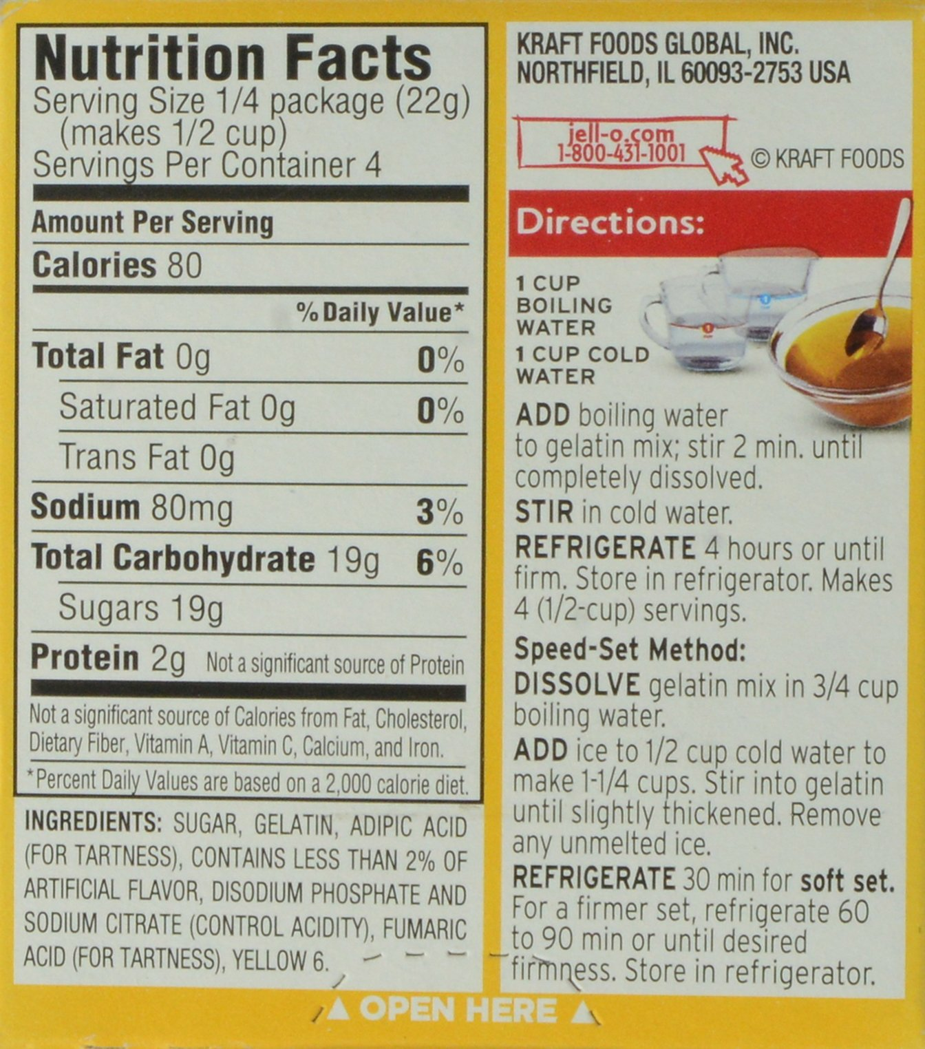 JELL-O Gelatin Dessert, Apricot, 3-Ounce by Jell-O (Image #4)