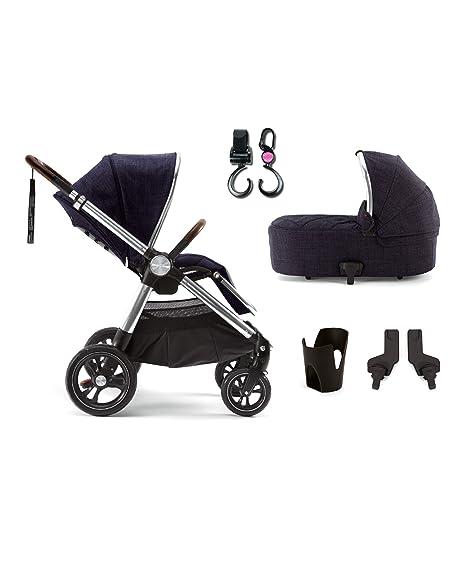 Mamas & Papas ocarro Signature Edition carrito de bebé 4 piezas Bundle y gancho N paquete