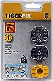 Tiger Tiger-Fix Crochet à coller numéro 1