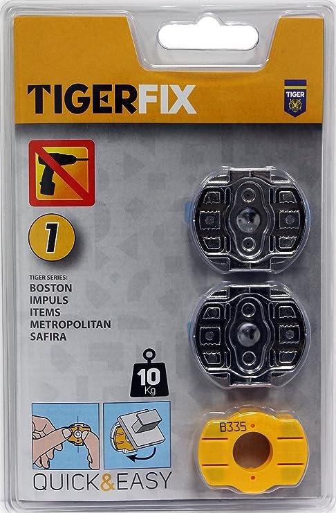 Tiger FIJACION SIN CLAVOS - SET N° 1
