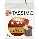 TASSIMO Kenco Colombian 16 Capsules (Pack of 5, Total 80 Capsules)