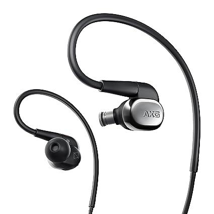 AKG N40SIL - Auriculares con Sonido Adaptable - Negro