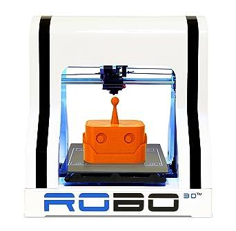 Amazon.com: Impresora 3D totalmente montada ROBO 3D R1 de 8 ...