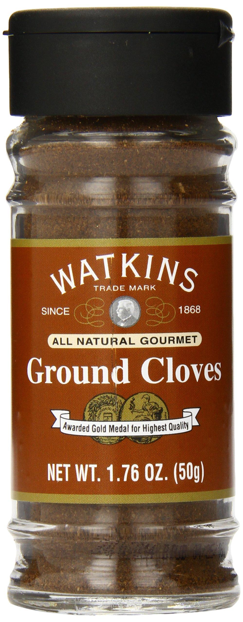 Watkins All Natural Gourmet Spice, Ground Cloves, 1.76 Ounce