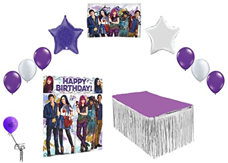 Image Unavailable Not Available For Color Descendants 2 Birthday Party Mega Decorating Kit