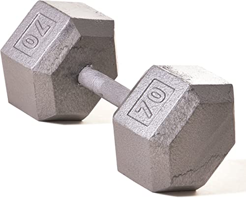 Champion Barbell Solid Hex Dumbbells