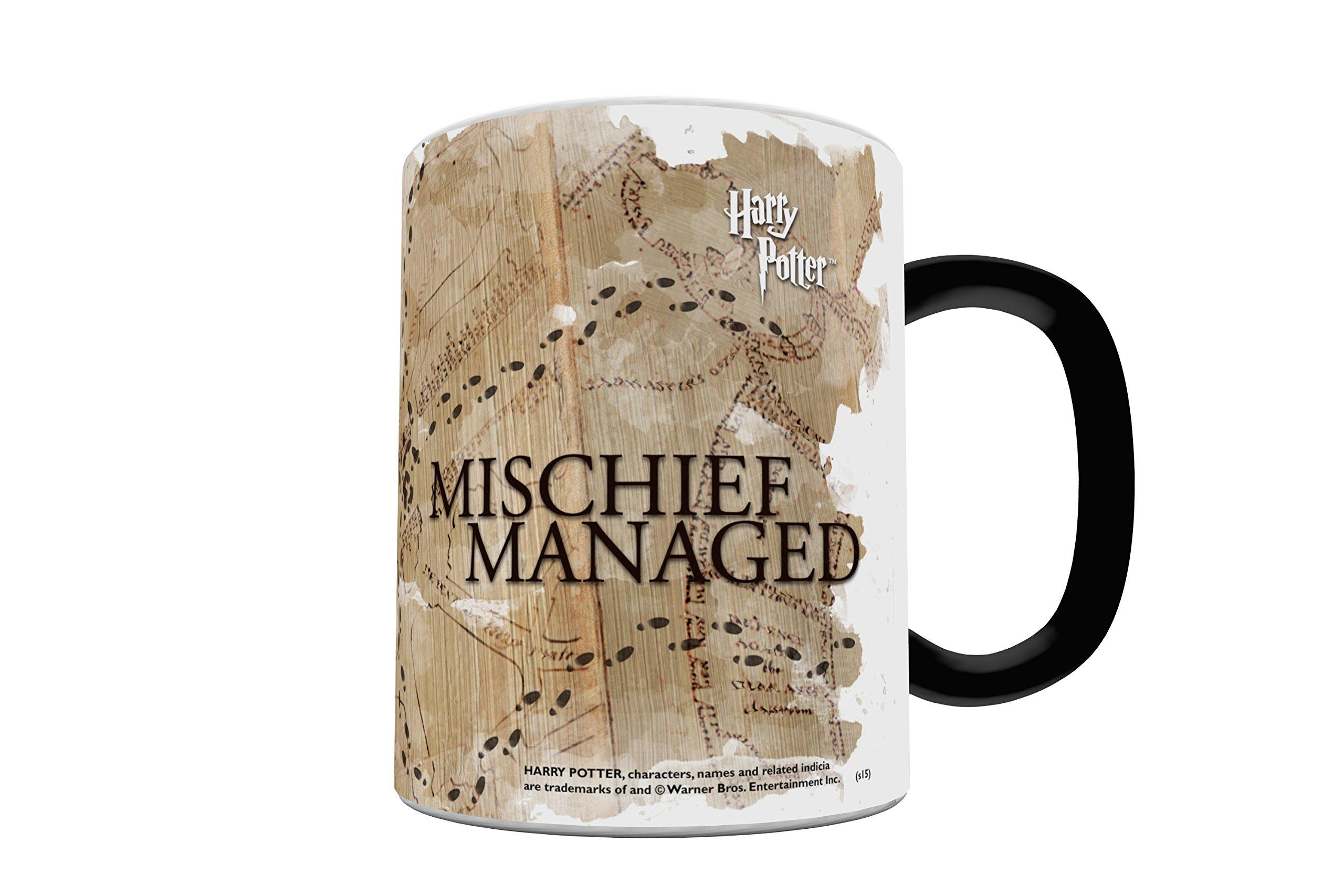 Morphing Mugs Harry Potter Hogwarts Marauders Map Heat Reveal Ceramic Coffee Mug - 11 Ounces by Morphing Mugs (Image #5)
