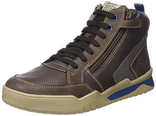 Geox J Perth Boy B, Zapatillas Altas para Niños: Amazon.es: Zapatos y complementos