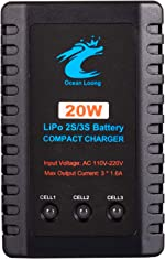 Ocean Loong OL-3 Airsoft Lipo Charger, 2-3 Cells 20W Li-Po Charger