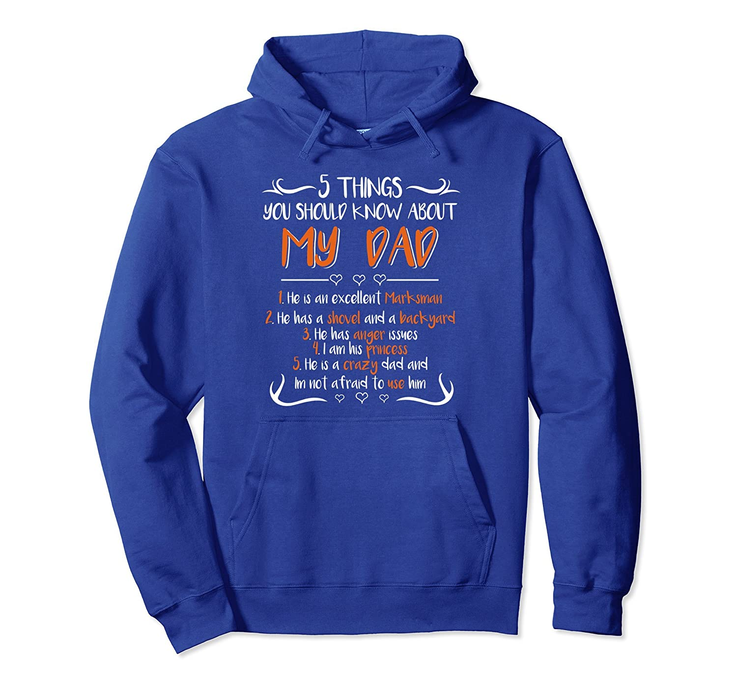 5 Things You Should Know About My Dad Fathers Day Hoodies- TPT