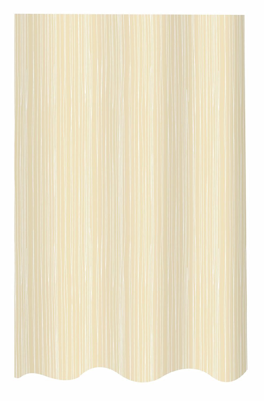 Spirella Bianco Wei/ß Tenda da Doccia 180 cm x 200 cm
