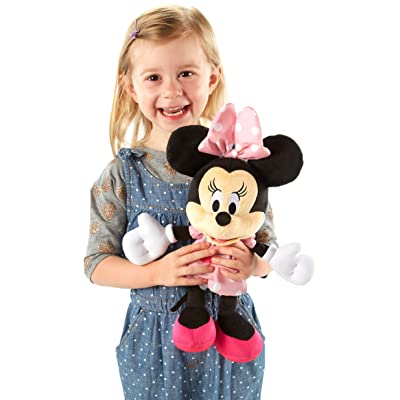 Fisher-Price Disney Mickey Mouse Clubhouse, Silly Squeeze Minnie Baby: Toys & Games [5Bkhe0506896]
