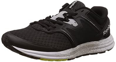 Reebok Exhilarun Mens Running Sneakers-Black-8