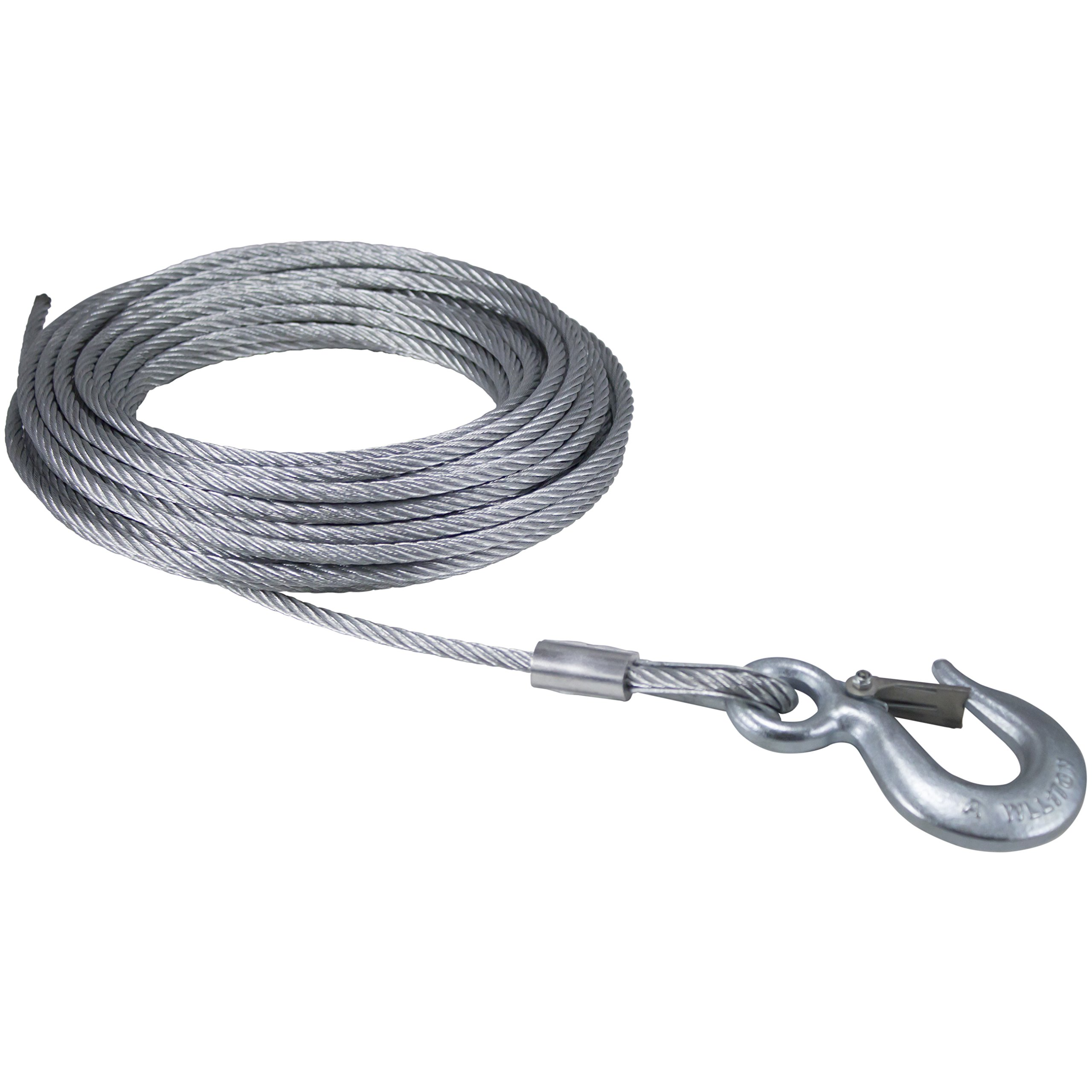 Dutton Lainson 6524 Cable with Hook 1/4- Inch x 50- Feet