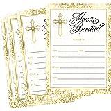 Amazon.com: Dozili - Invitación para bautizo, diseño de ...