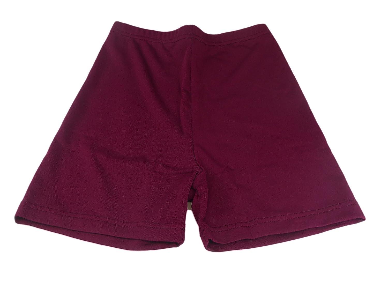 CARTA SPORT Girls//Lady Lycra Shorts 32in Maroon