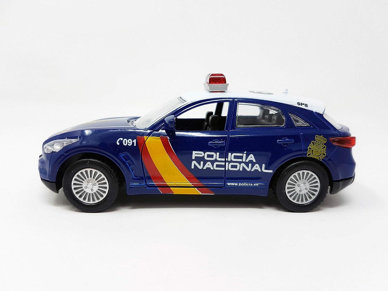PLAYJOCS Coche Policía Nacional GT-0233: Amazon.es: Juguetes y juegos