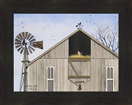 amazon com winds aloft by billy jacobs 16x20 weathered barn