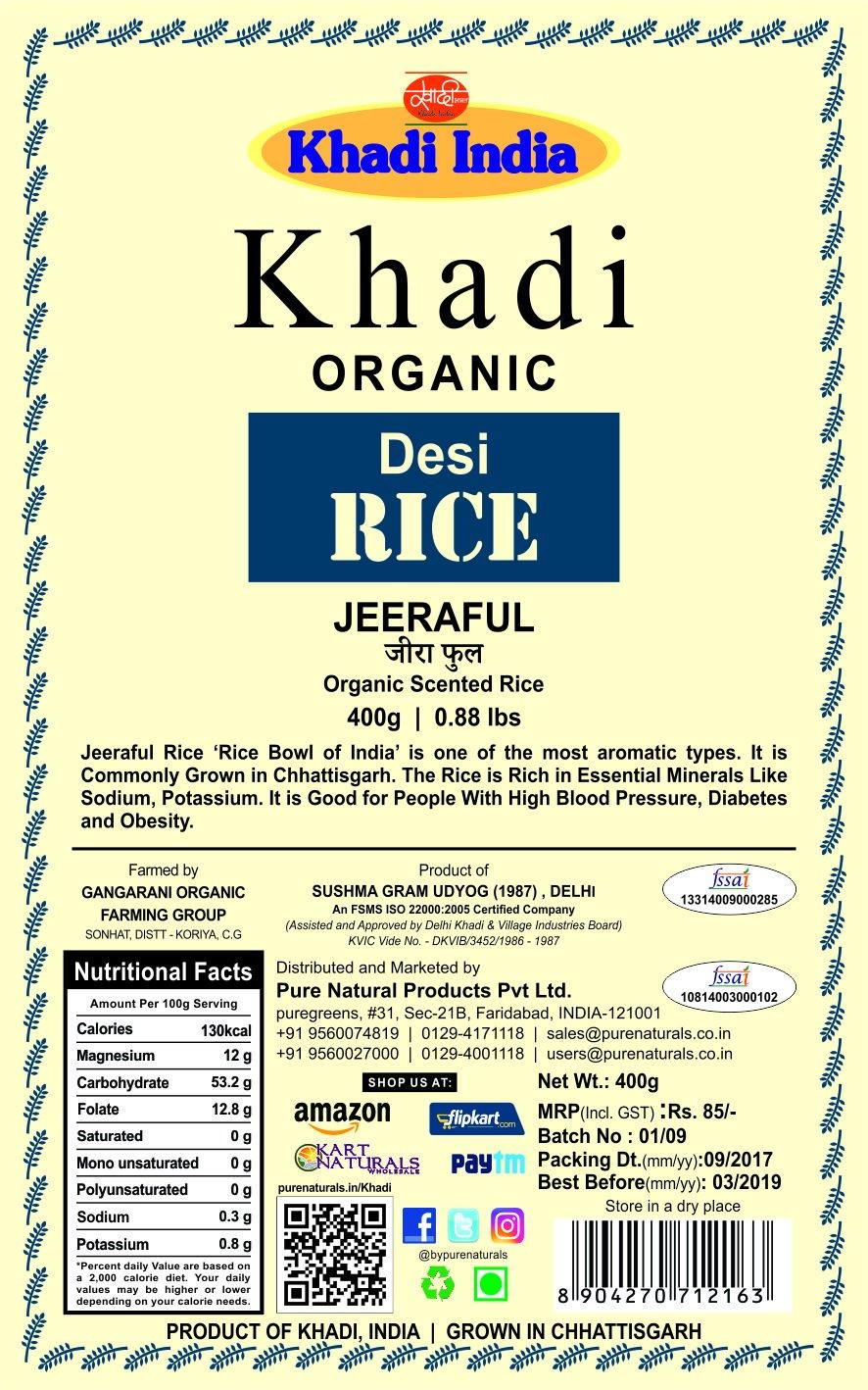 Harga Pure Green Beras Organik 1kg Multi Ethnic Termurah 2018 Tang Ampere Fluke 376 With Ifex Puregreen Organic Fragrance Rice Daftar Terbaru Dan Khadi