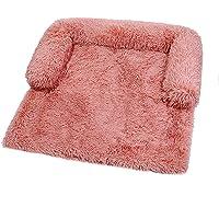Zoomlie Mjuk plysch hundmatta soffa, lugnande hundbädd ultramjuk päls husdjurssängar mjuk tvättbar dyna filt kudde…