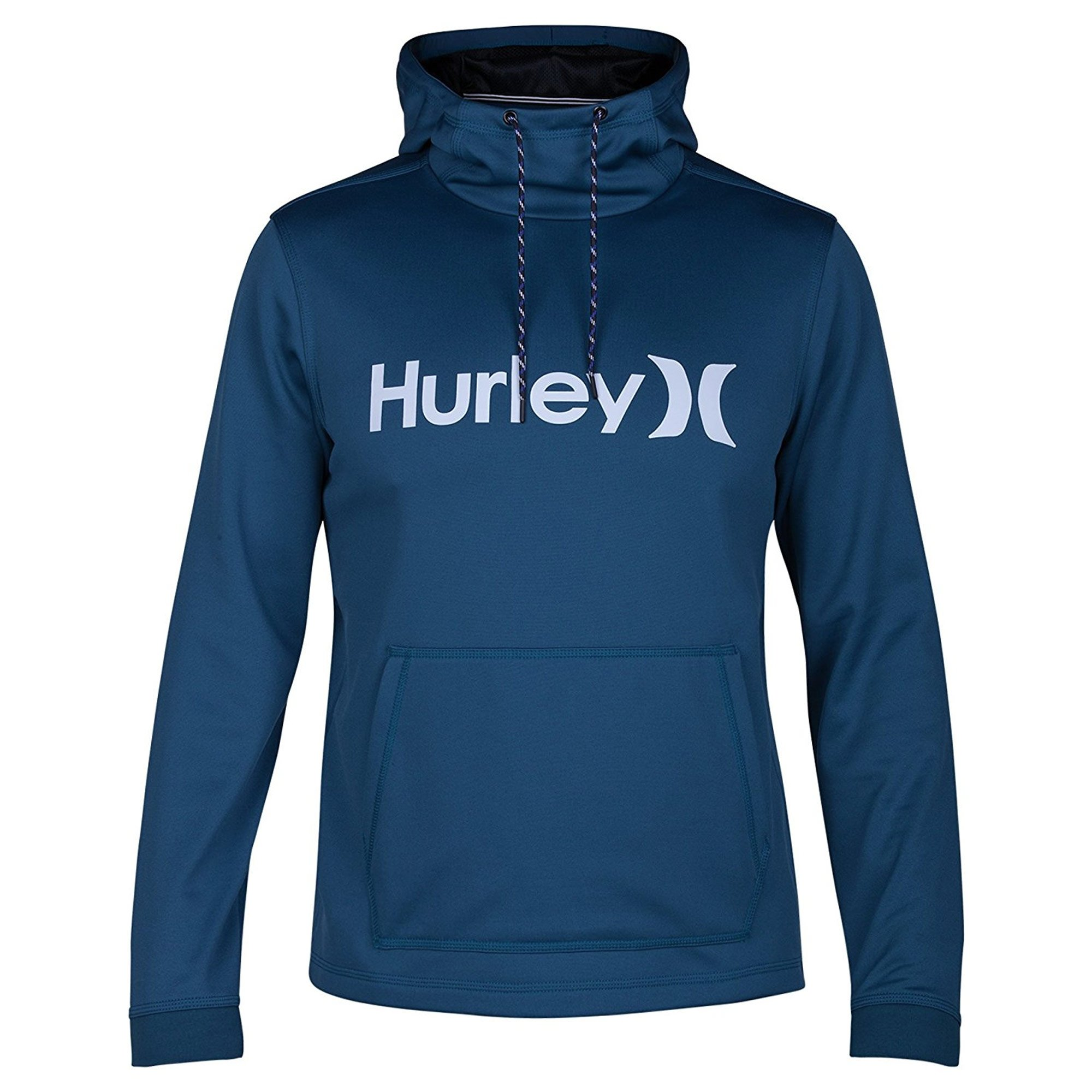 Hurley Men's Therma Protect Pullover Fleece, Space Blue, Small
