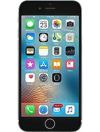 Apple iPhone 6S, Fully Unlocked, 16GB - Space Gray (Renewed)